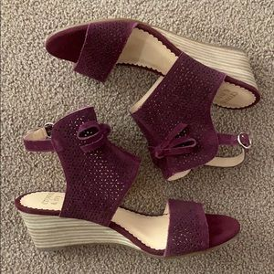 Brand new Crown and Ivy suede shoes
